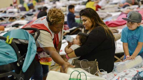 American Red Cross natural disaster response. Photo: Daniel Cima